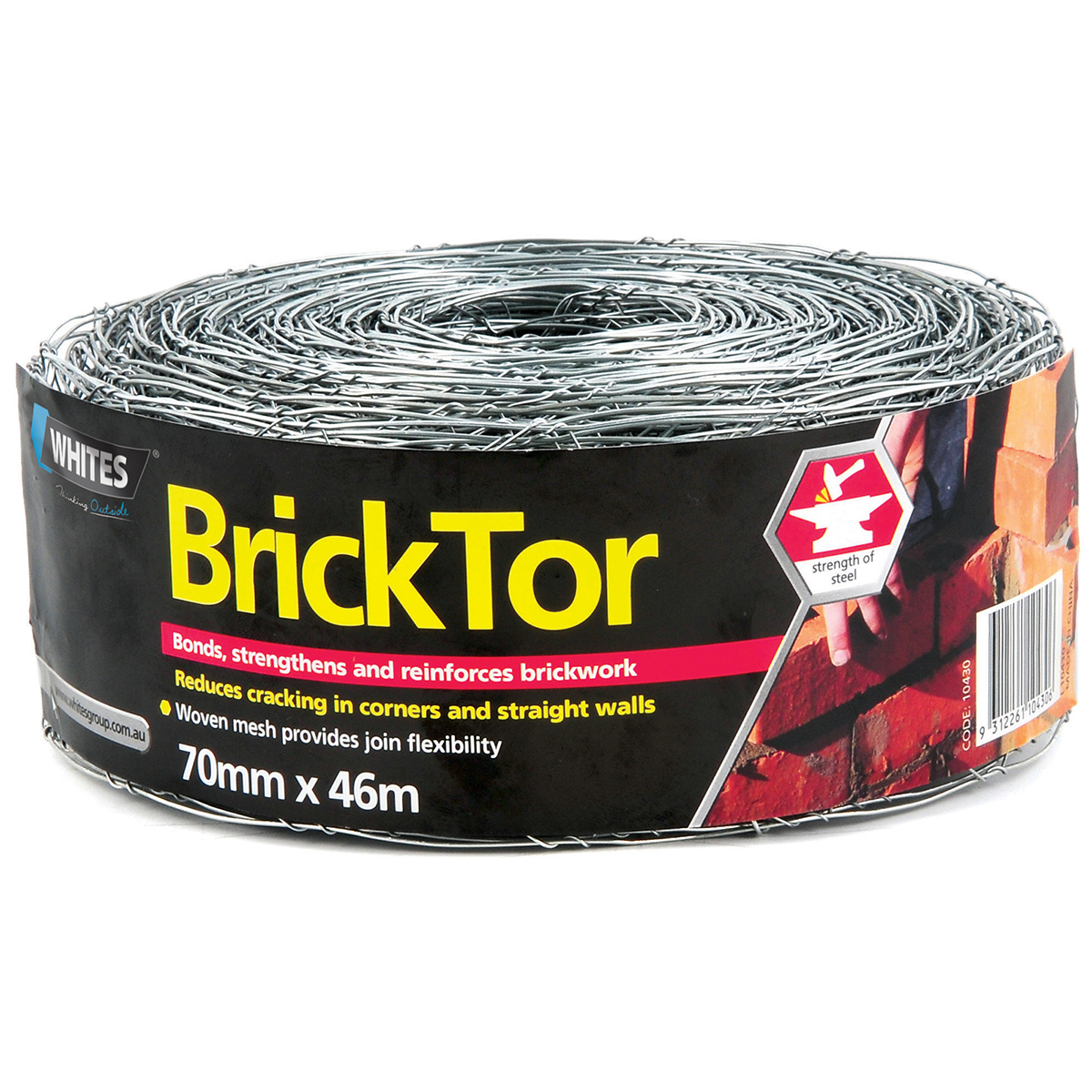 10430 BrickTor Galvanised 70mm x 46m Updated 1200px