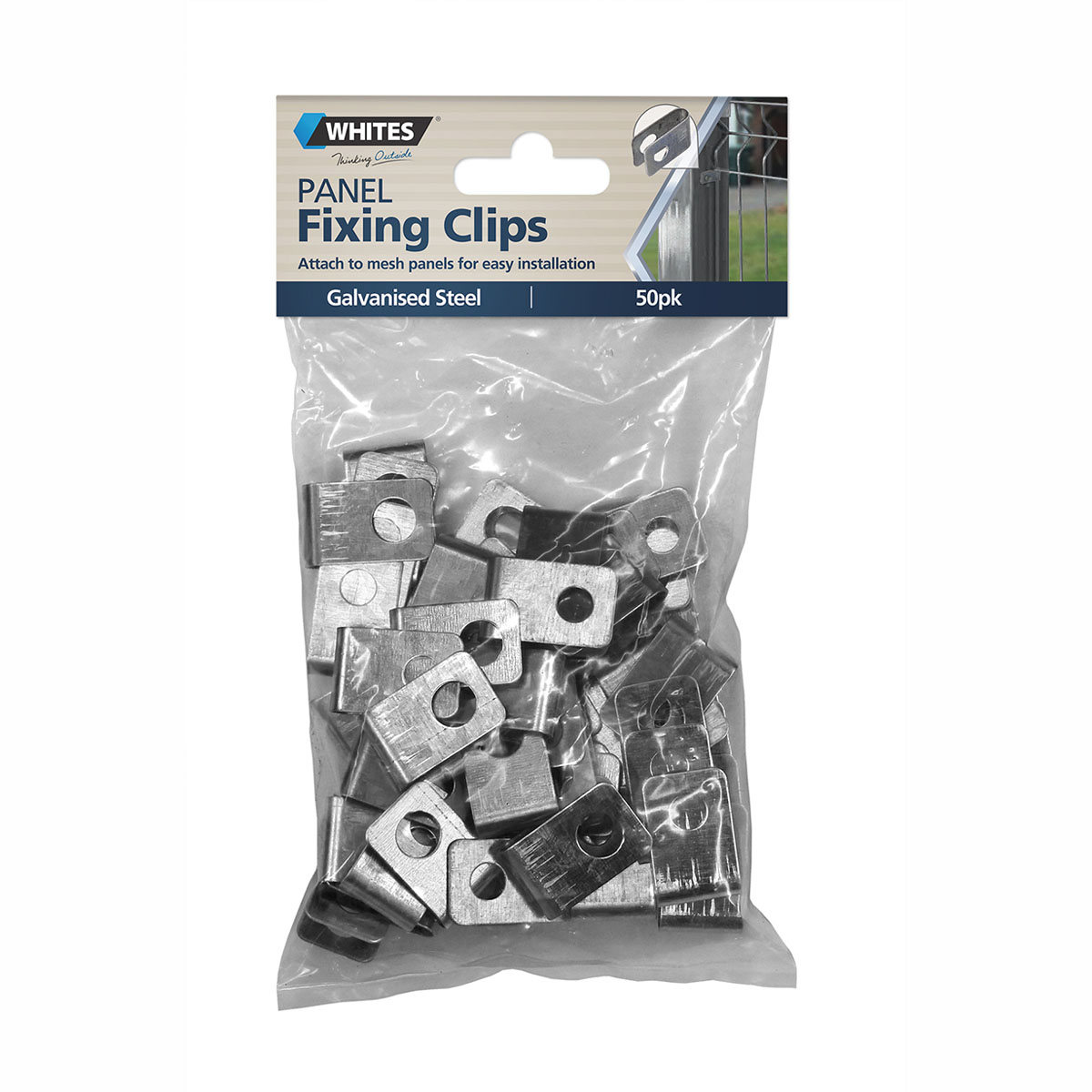 12391 panel fixing clips 50pk
