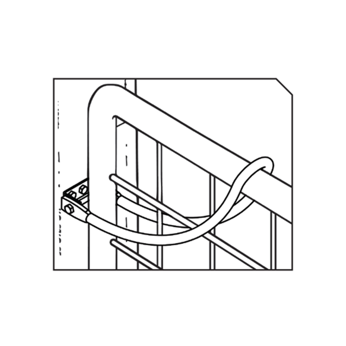 13791 gate bow latch illustration