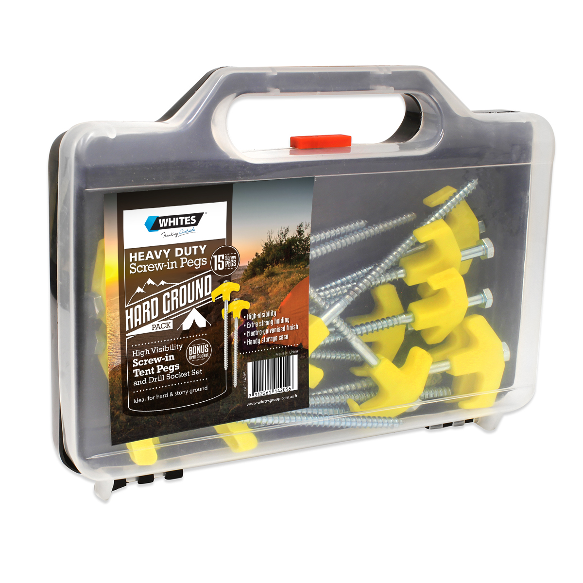 14205 - HD Screw-in Tent Pegs