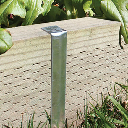 steel edging stake