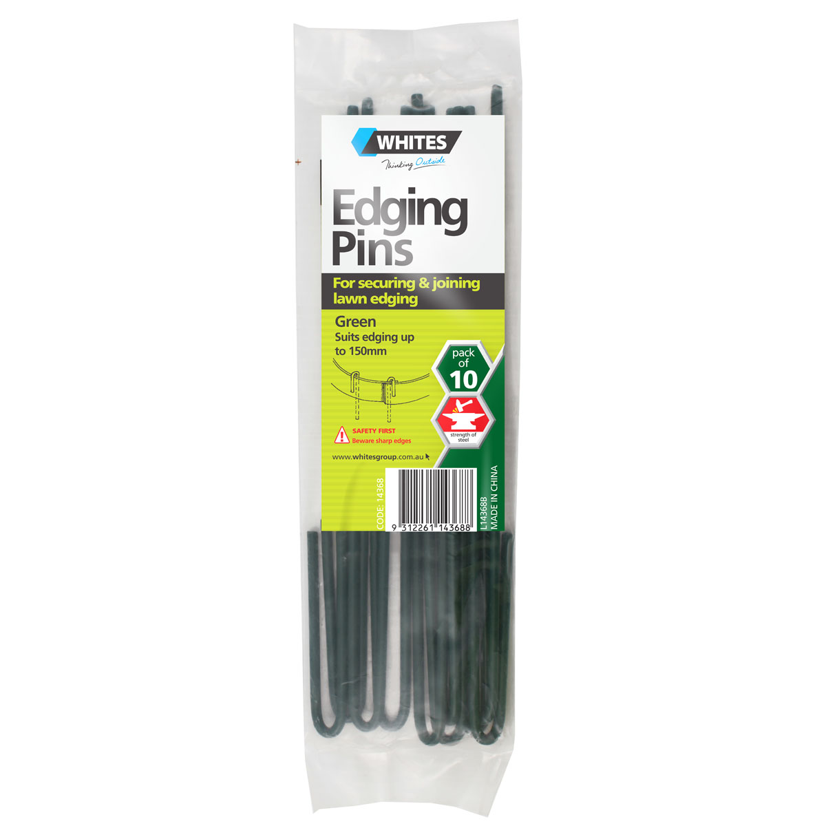 14368 Edging Pins green