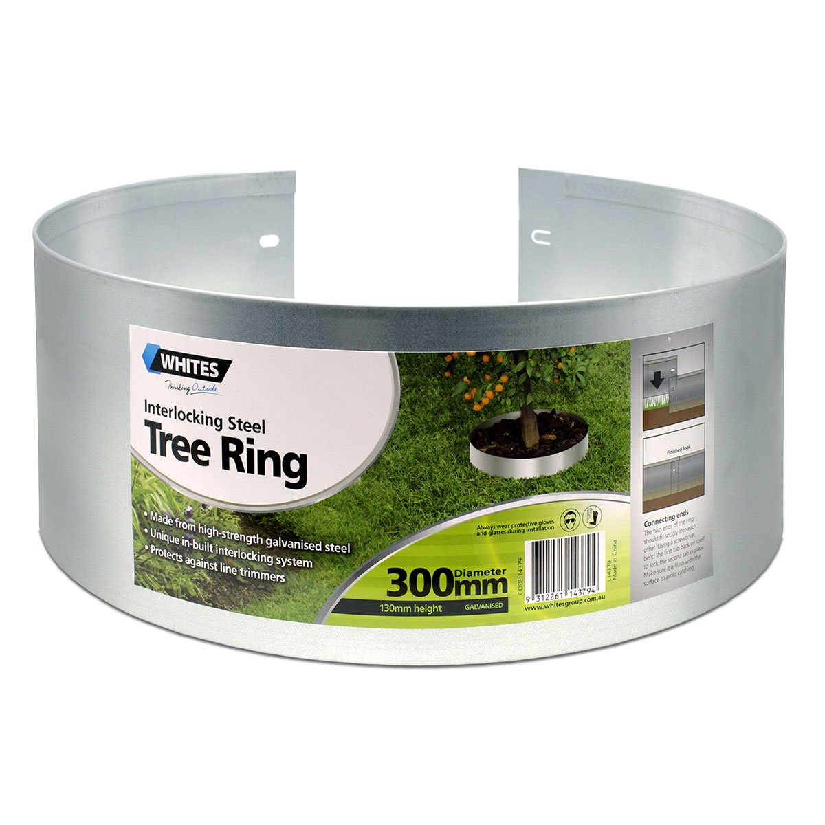 14379 Interlocking Steel Tree Ring