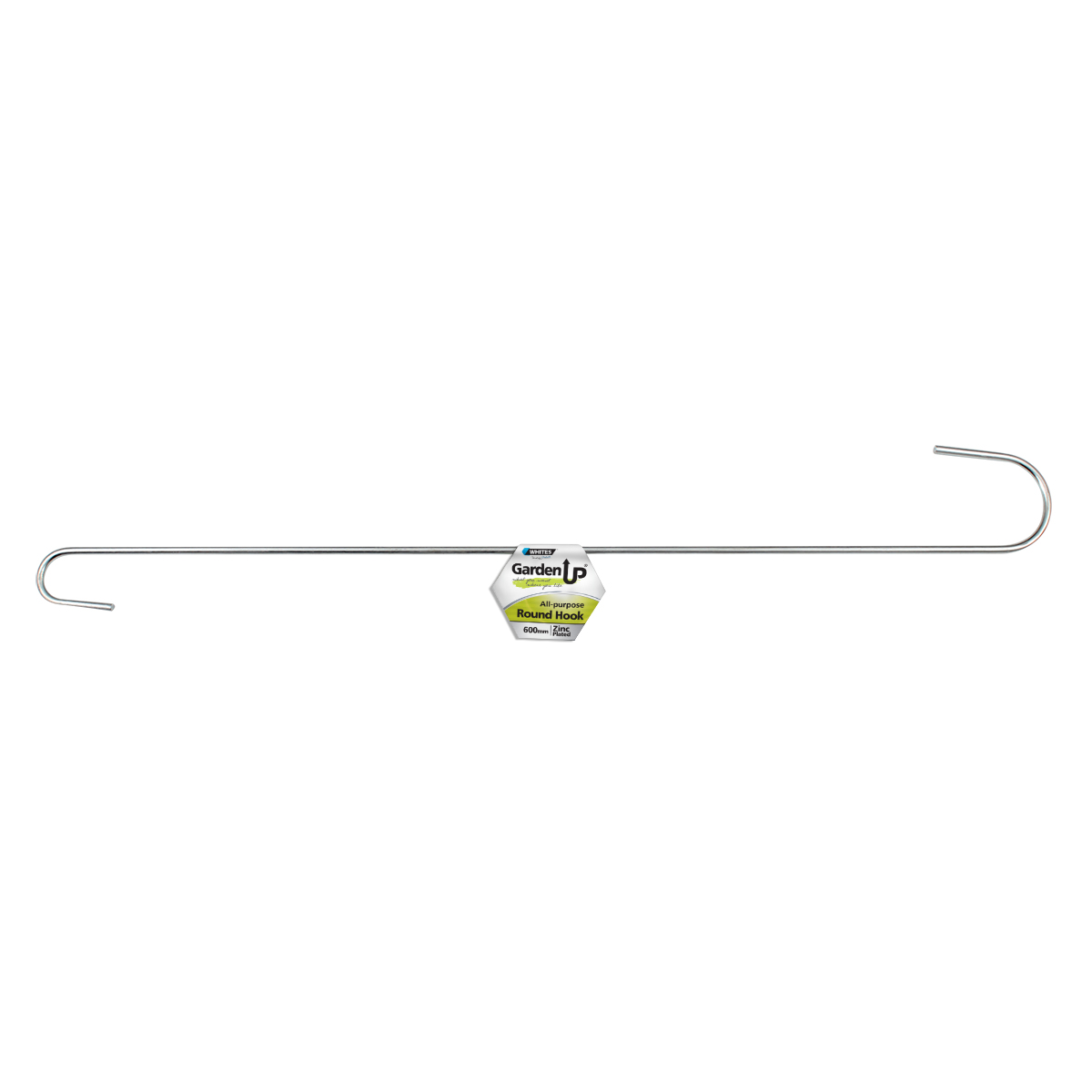 18117 All Purpose Hook Round 600mm Zinc Plated