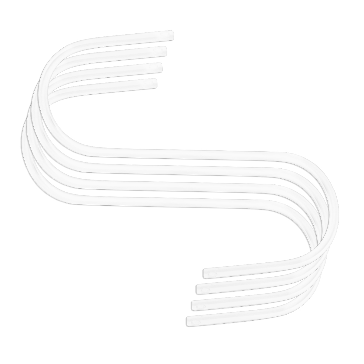 18119 HD Hooks 60mm 4pk White