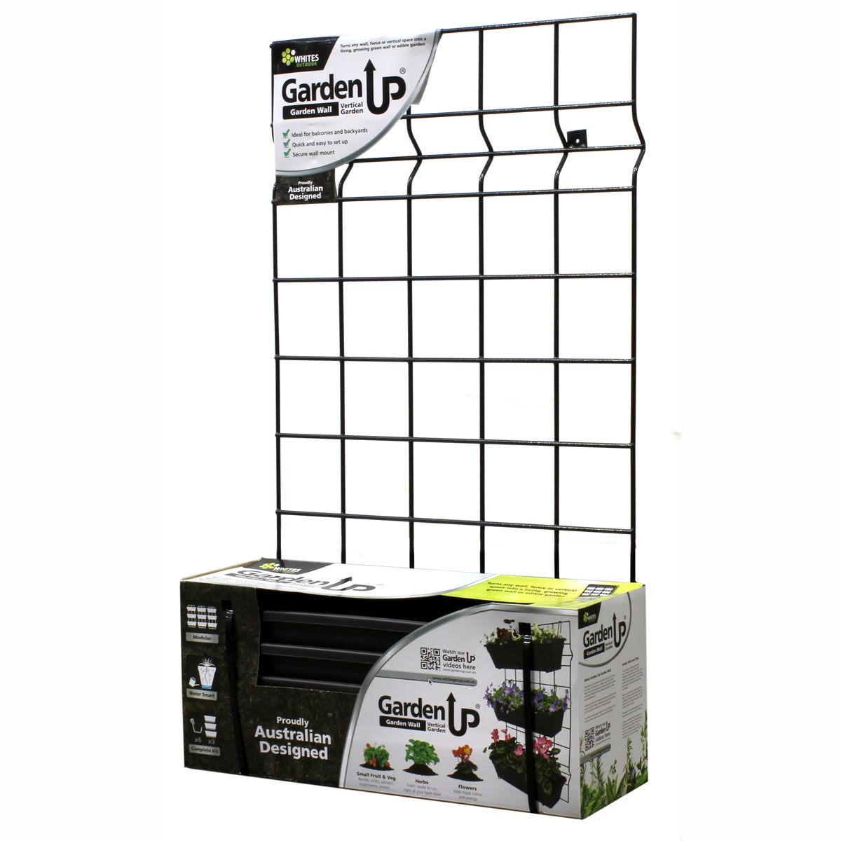 18194 Garden Up Classic Wall Kit in packaging