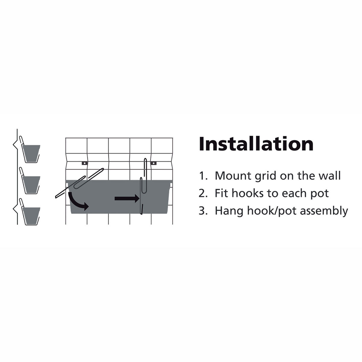 18194 Garden Up Classic Wall Kit installation guide