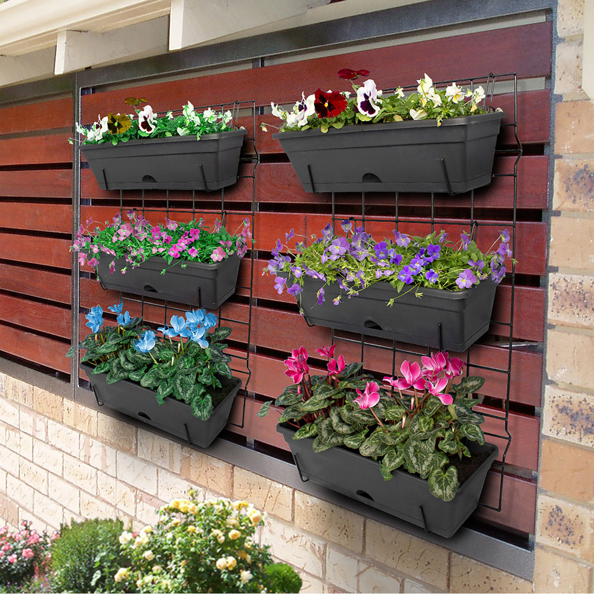 Garden wall with Classic Wall Kits