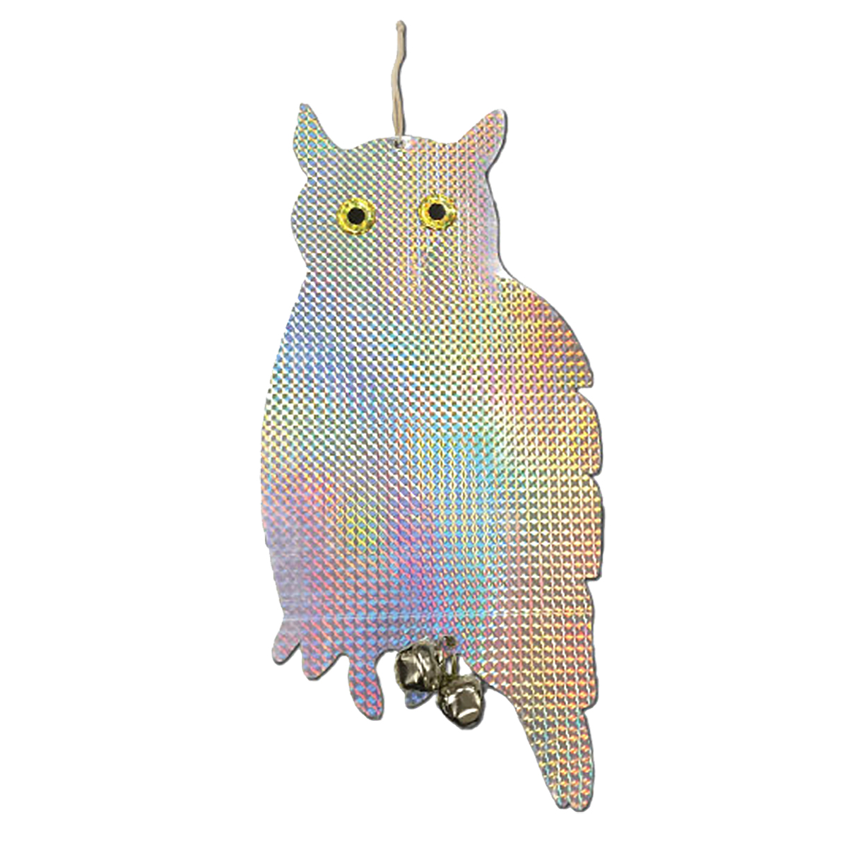18416 - Relective owl and bell