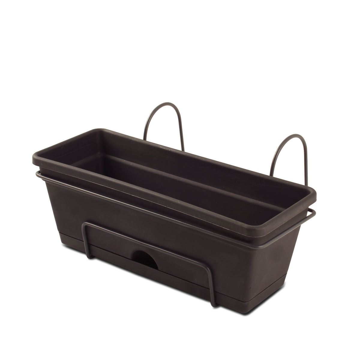 18420 Herb Planter Charcoal