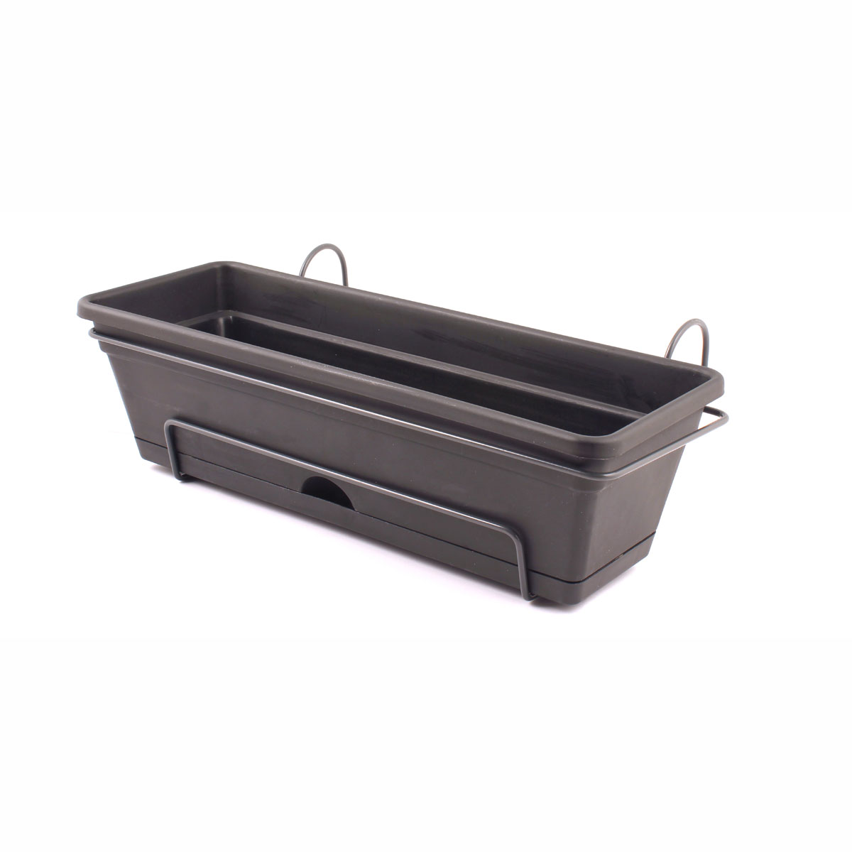 18427 Garden Up Classic Planter Charcoal