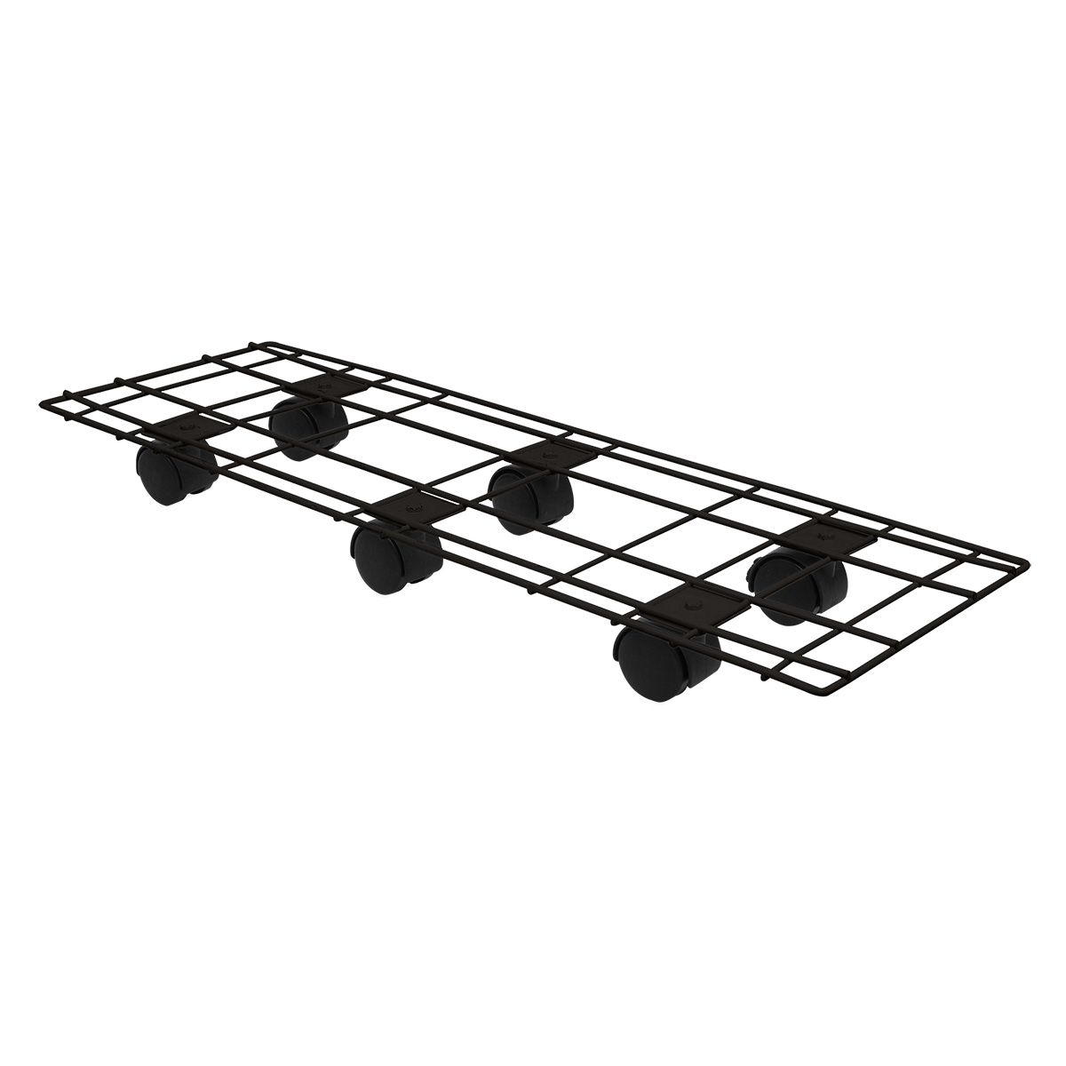18522 Pot Trolley 60x20cm Black