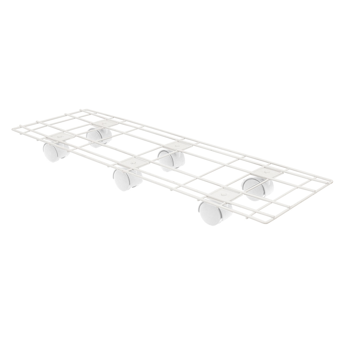 18523 Pot Trolley 60x20cm White