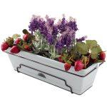 18690 - Garden Up Classic Planter-Flowers Concrete Grey