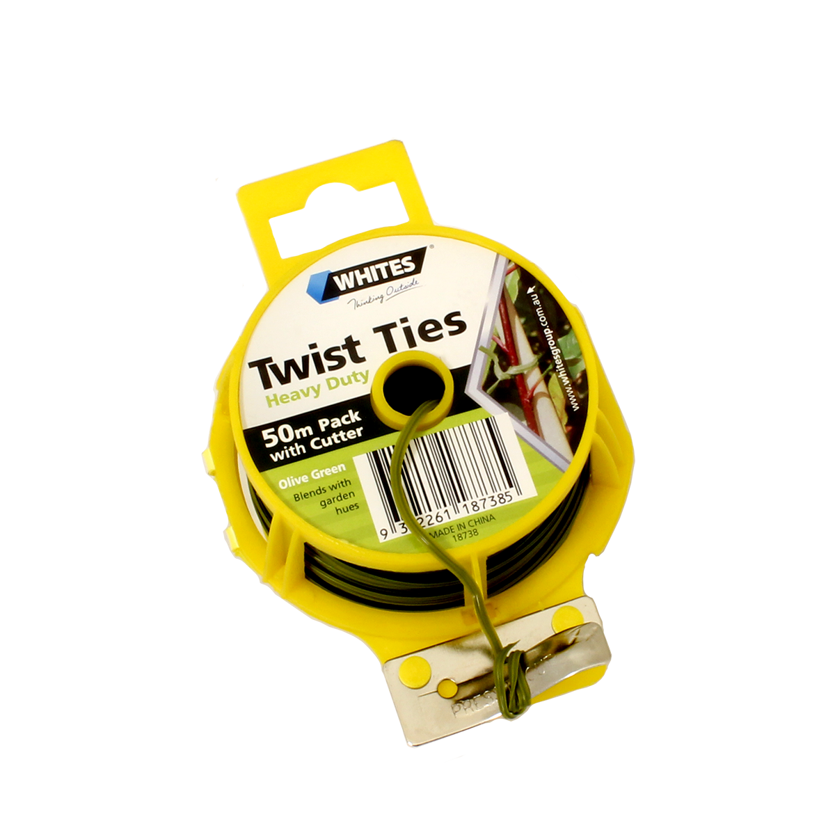 18738 twist tie heavy duty 50m with cutter