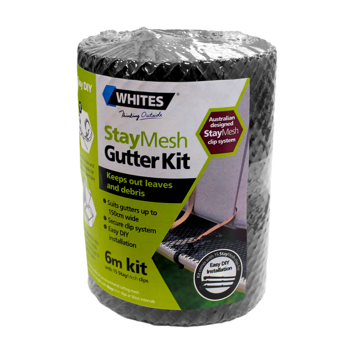 20011 staymesh gutter kit roll