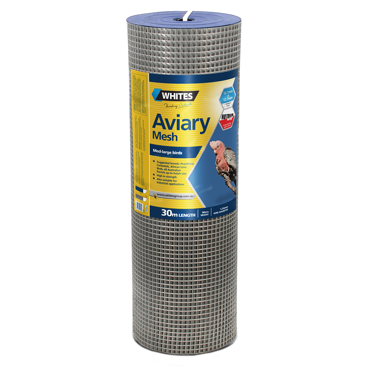 20822 90cm 12x12 Medium Bird Aviary Mesh 30m