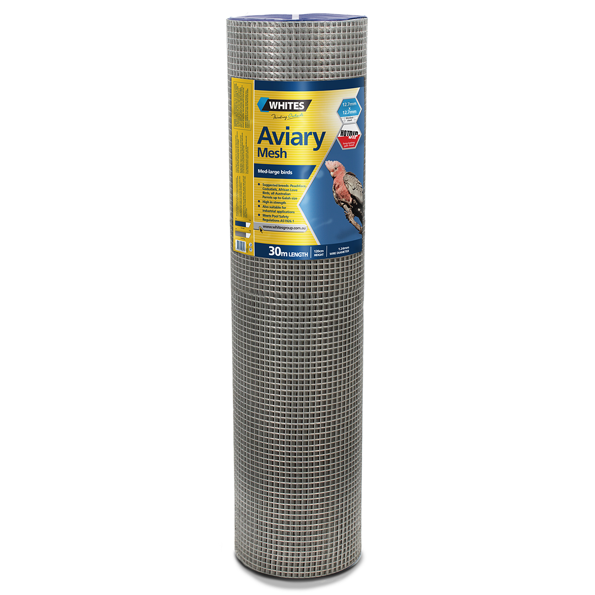 20825 120cm 12x12 Medium Bird Aviary Mesh
