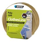 23514 Poly Core Clothesline Sandstone Beige 30m