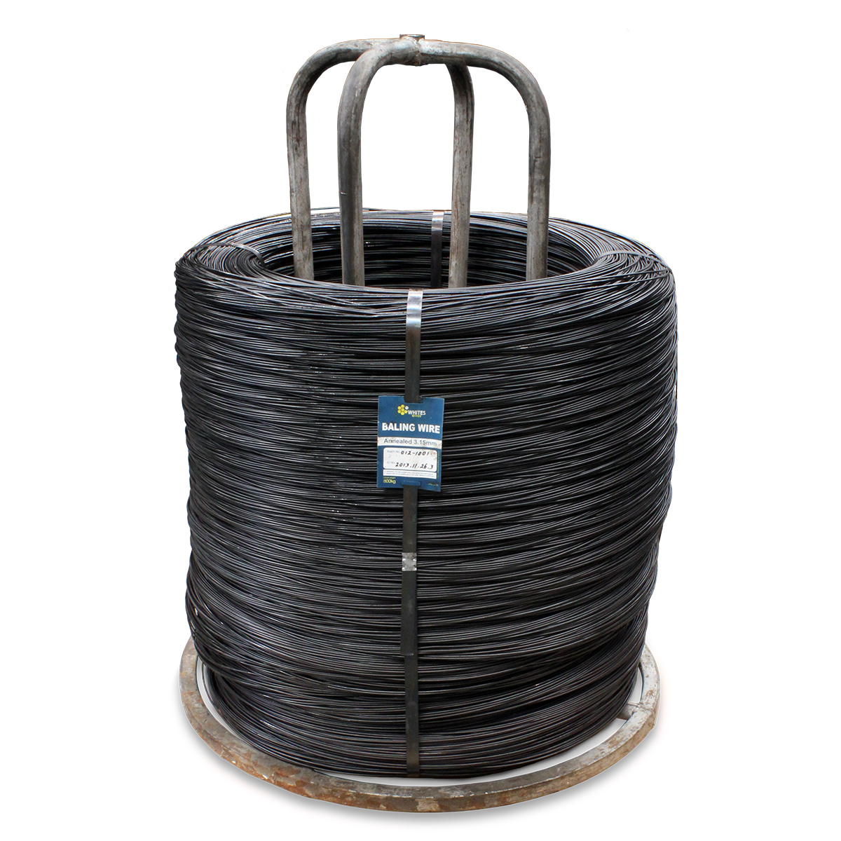 29631 29634 Annealed Baling Wire Coil Black
