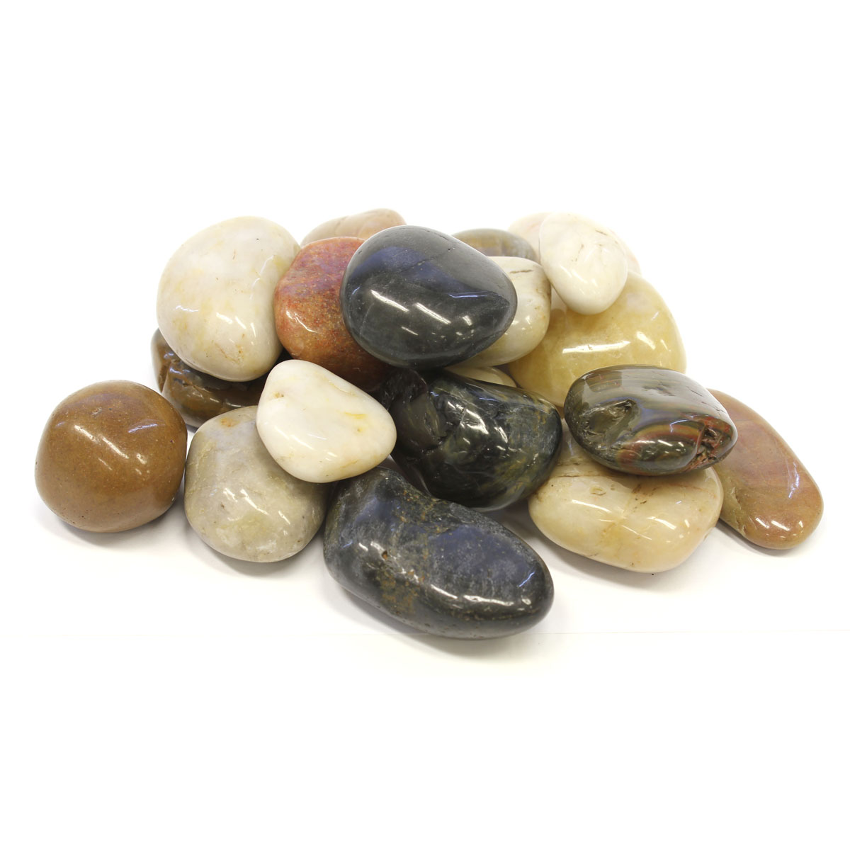 31018 Landscaping Rocks polished mix