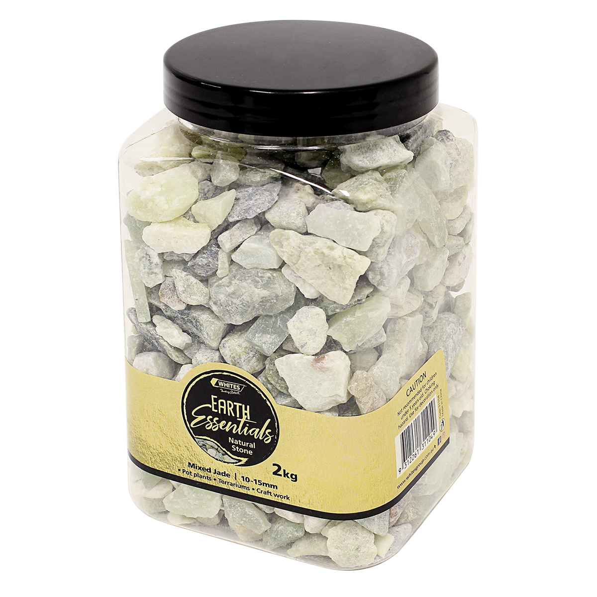 31104 - Mixed Jade Rock Jar 2kg