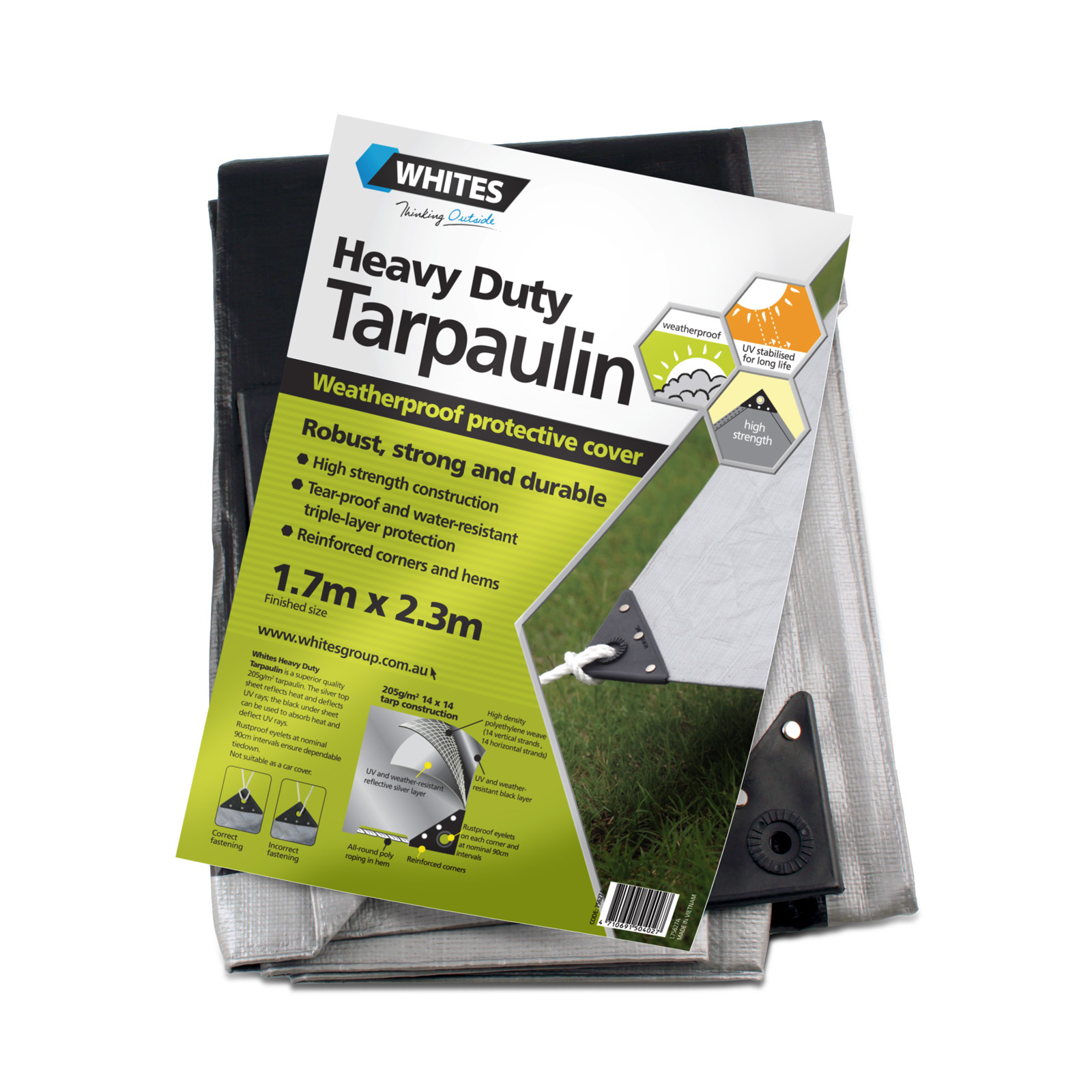 75627 - Heavy Duty Tarp - 6x8