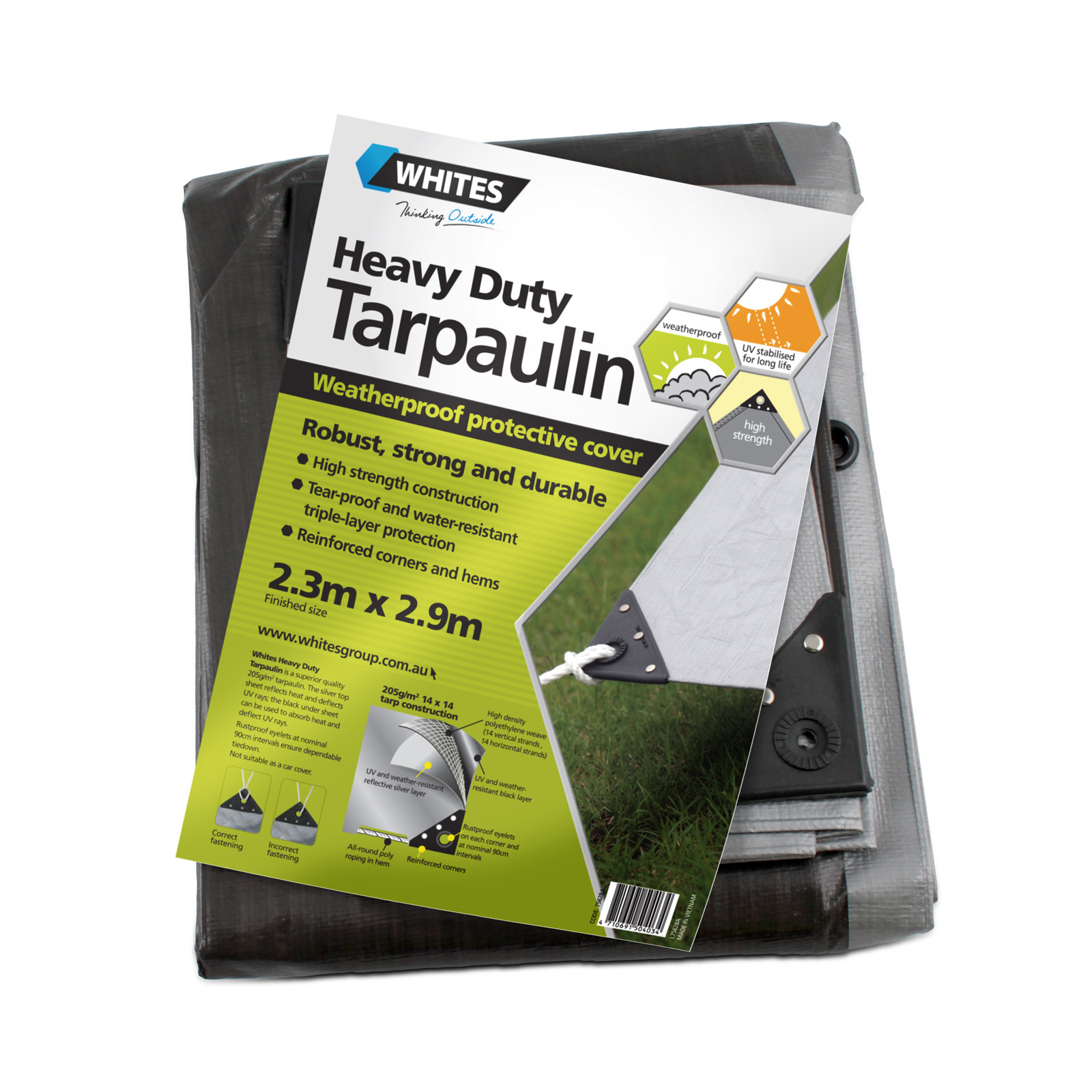 75628 - Heavy Duty Tarp - 8x10