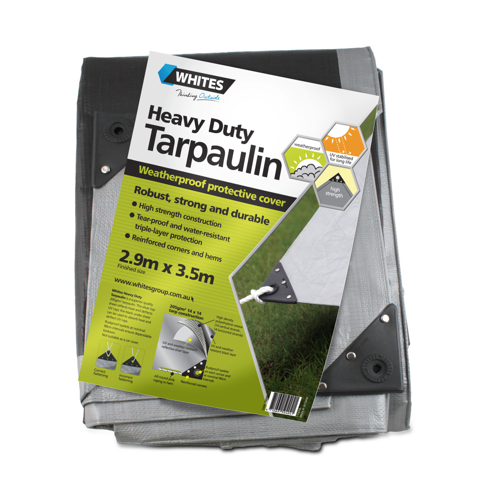 75629 - Heavy Duty Tarp - 10x12