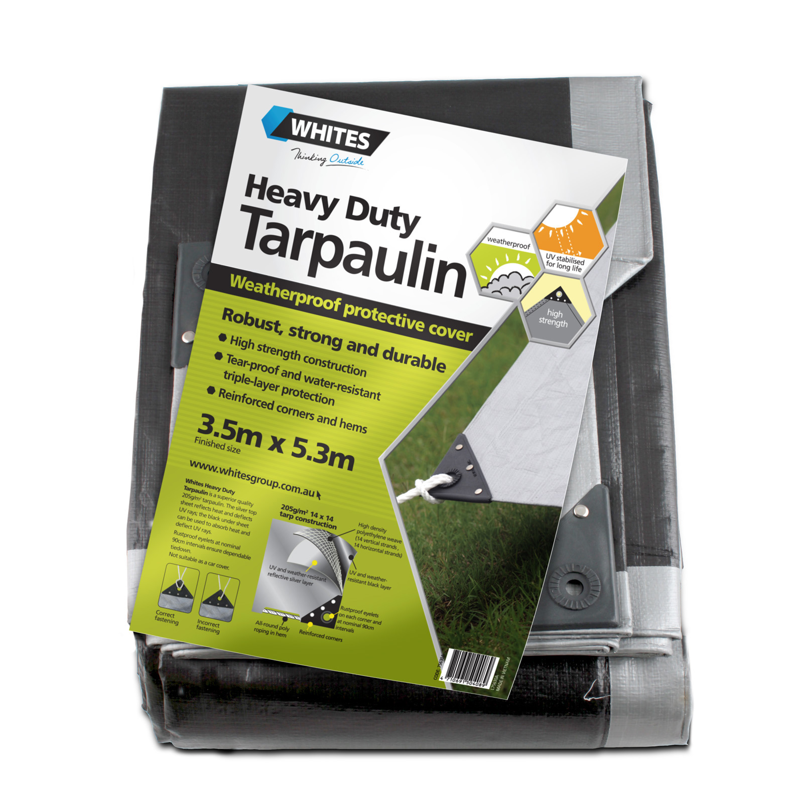 75630 - Heavy Duty Tarp - 12x18