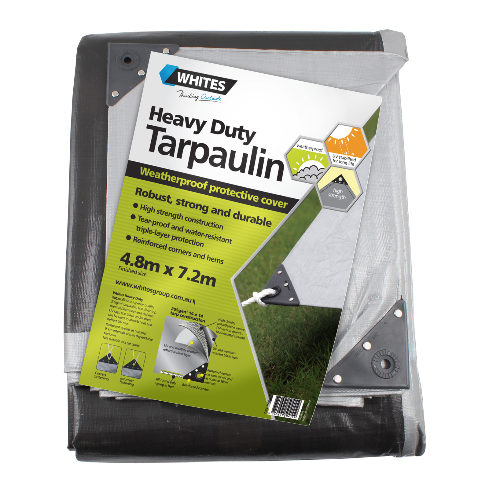 75631 - Heavy Duty Tarp - 16x24
