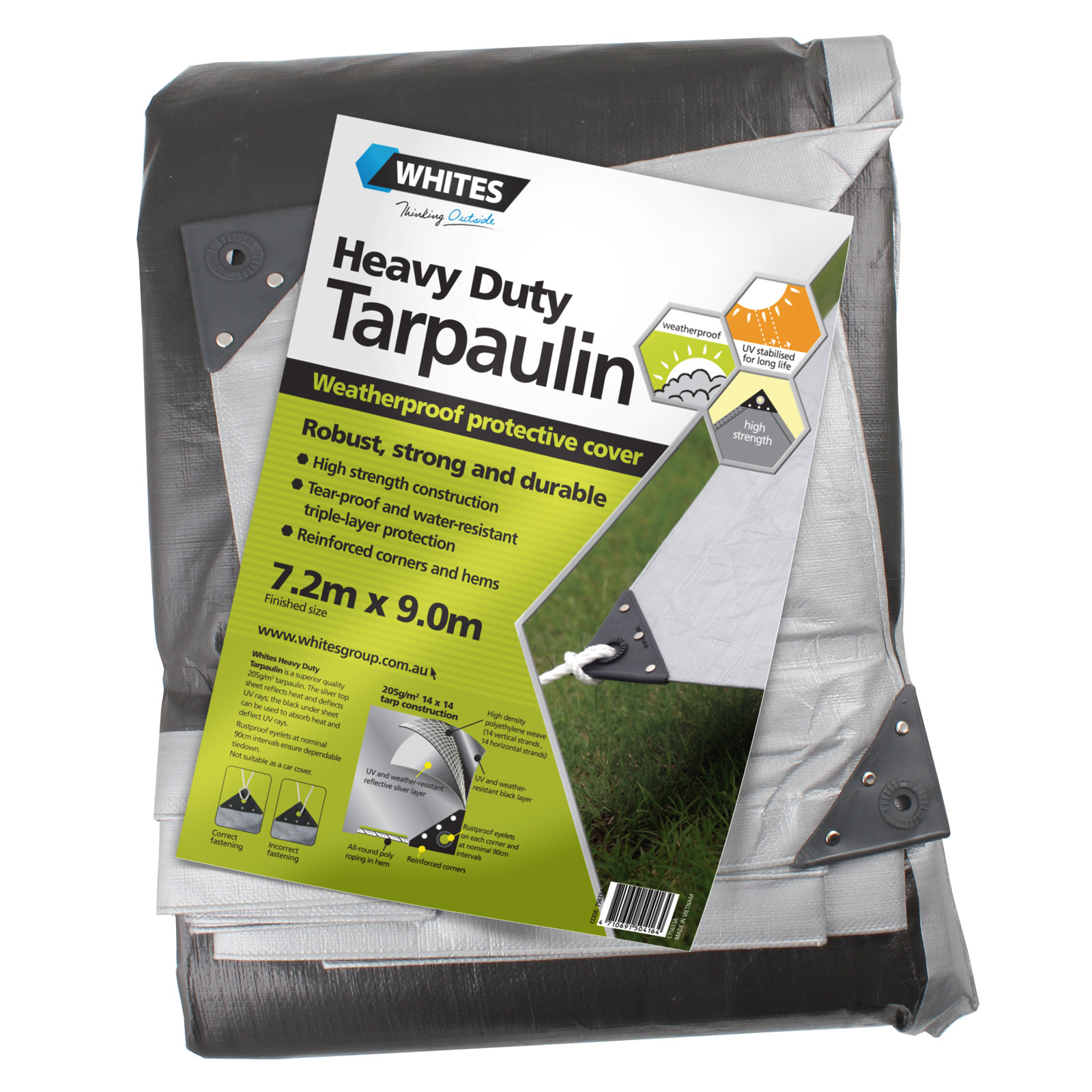 75633 - Heavy Duty Tarp - 24x30