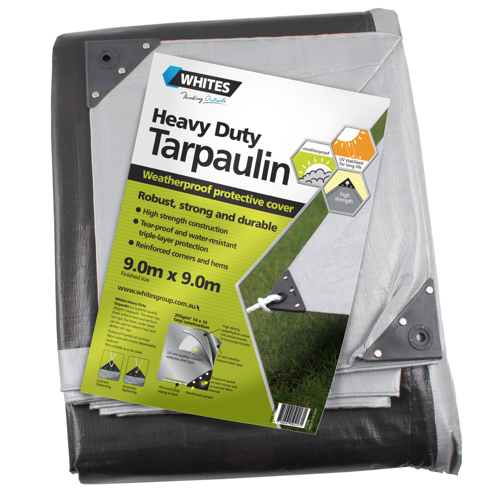 75634 - Heavy Duty Tarp - 30x30