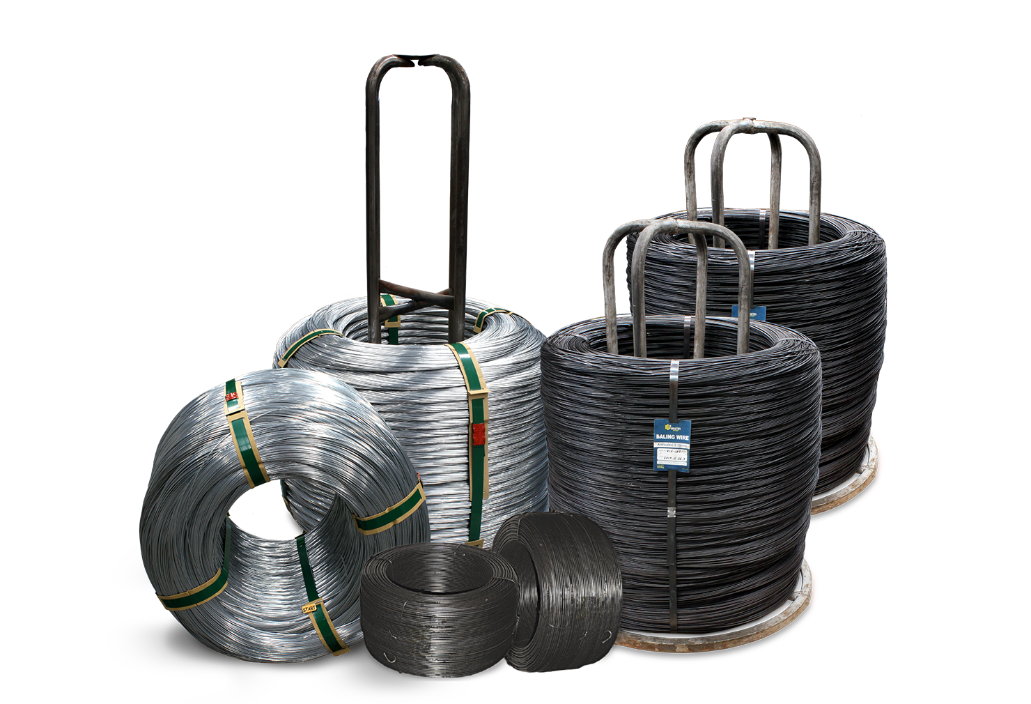 Annealed Baling Wire group shot