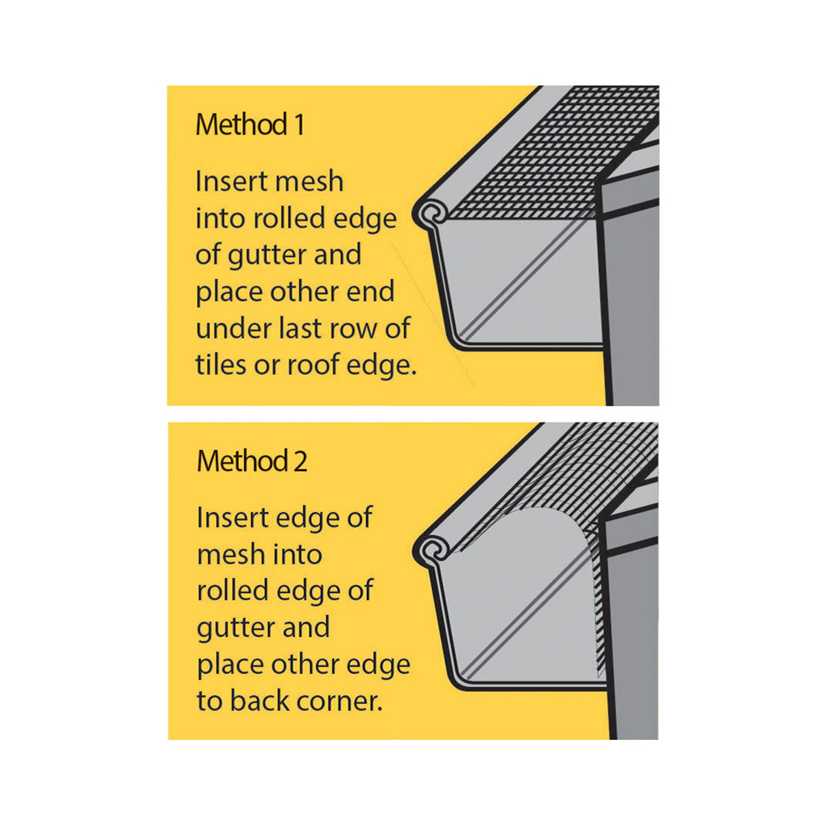 fireguard gutter guard methods