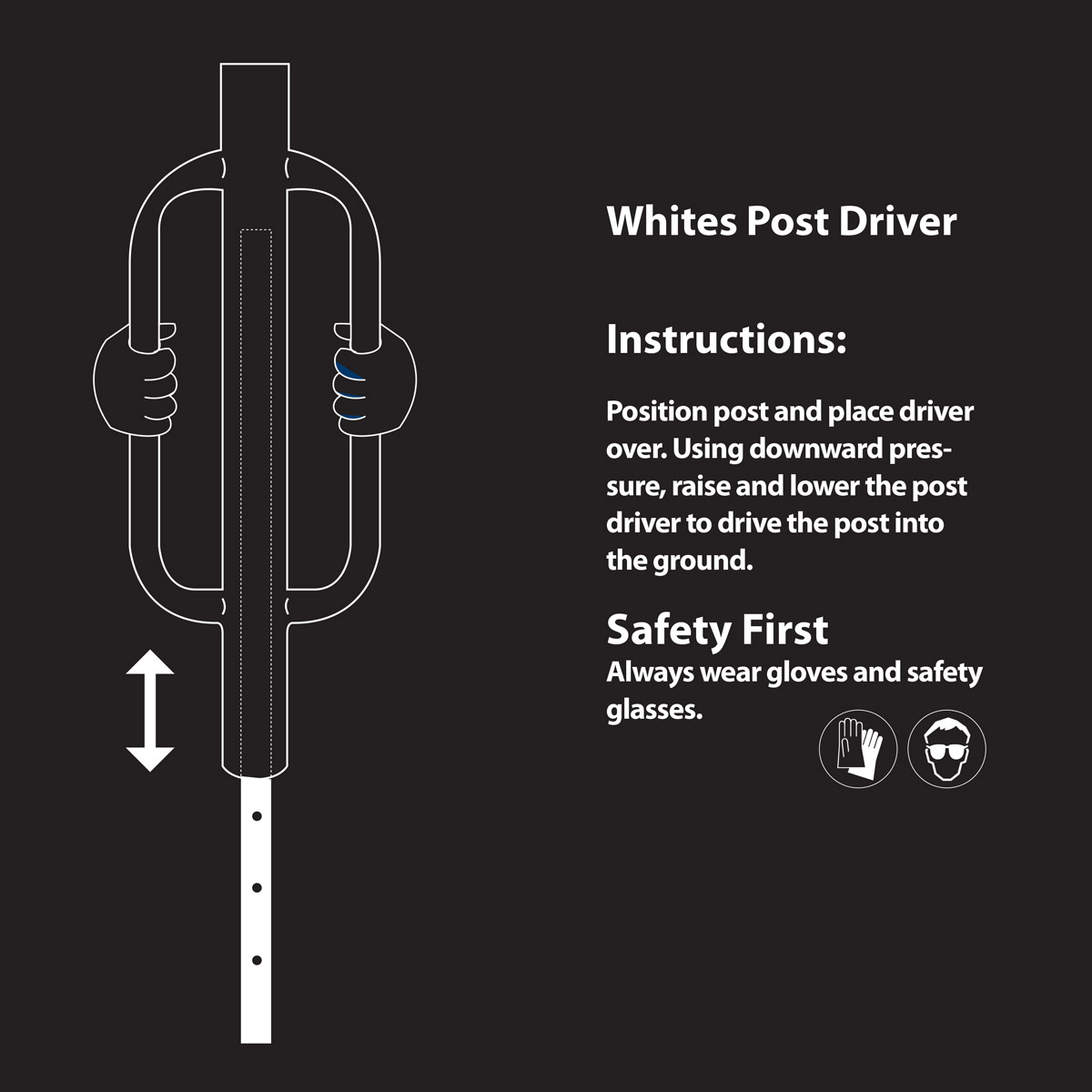 post driver instructions