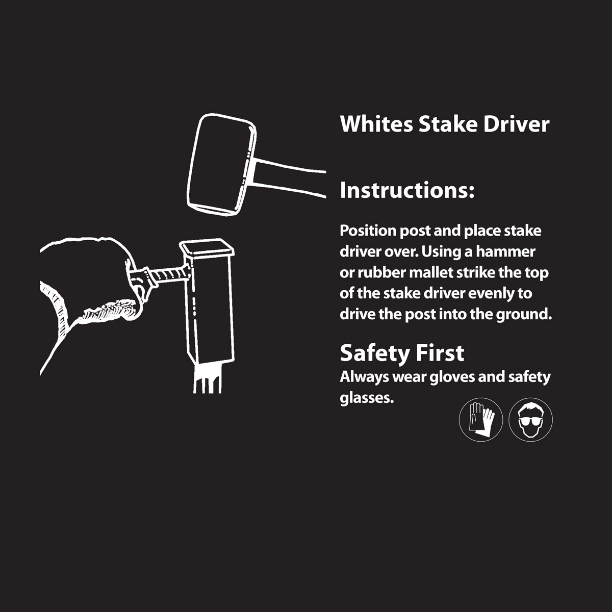 stake driver instructions