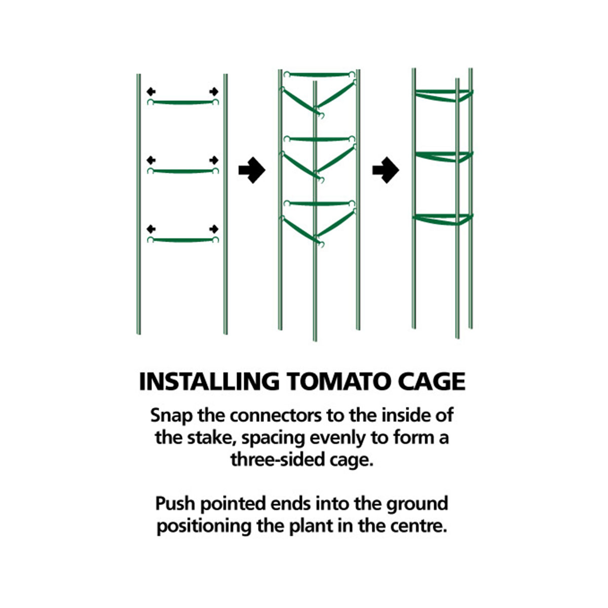 tomato cage installation guide