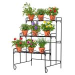 18197 Plant Stand Wall with pot plants