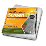75054 - Weatherview screen 3.0 x 4.0m