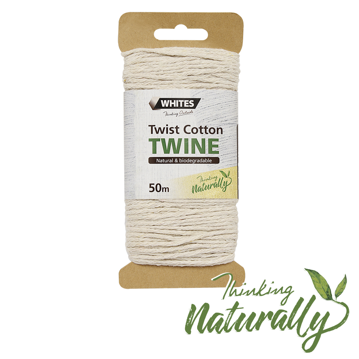 18744 Twist Cotton Twine 50m