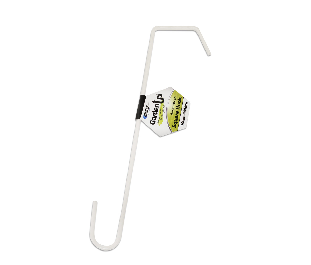 18073 - All Purpose Square Hook 300mm White